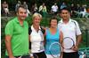 MIXED 45+ RAUCH Markus (TC ESV Feldkirch), KÜHNE Dorit (TC Rankwei)l und KOCH Johanna (UTC Koblach), MARKOVIC Marko (UTC Klaus)