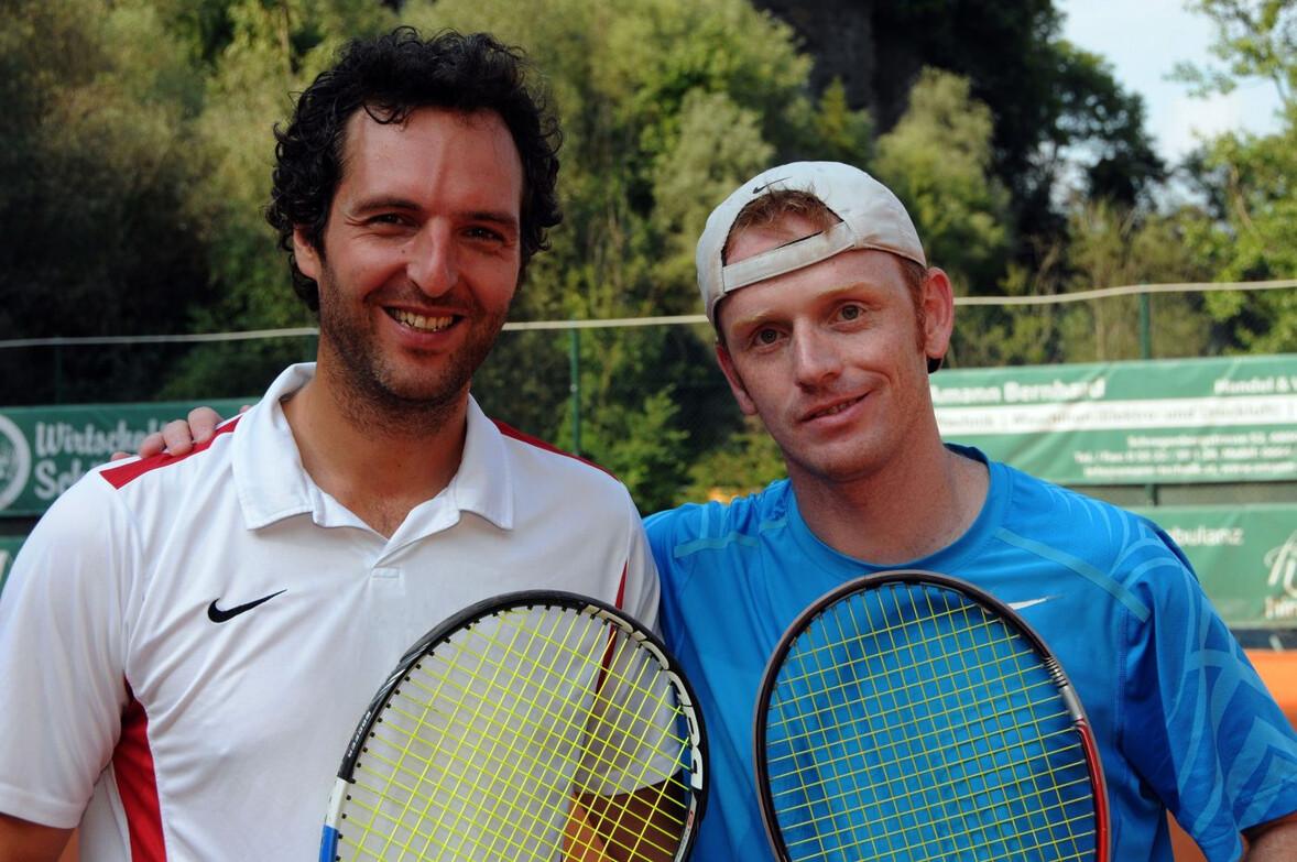 HERREN 35+ MARTE Bernhard (TC ESV Feldkirch) und BIRNBAUMER Christoph (UTC Alberschwende