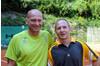 HERREN 45+ SCHNECKENREITHER Roland ( TC ESV Feldkirch) und BITSCHI Hannes (UTC Wolfurt)