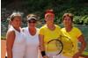 DOPPEL 50+ SUITZ Ingeborg, HUBER Carmen (TC Höchst) und UCCIA Anita, DAUM Roswitha (TC Bregenz)
